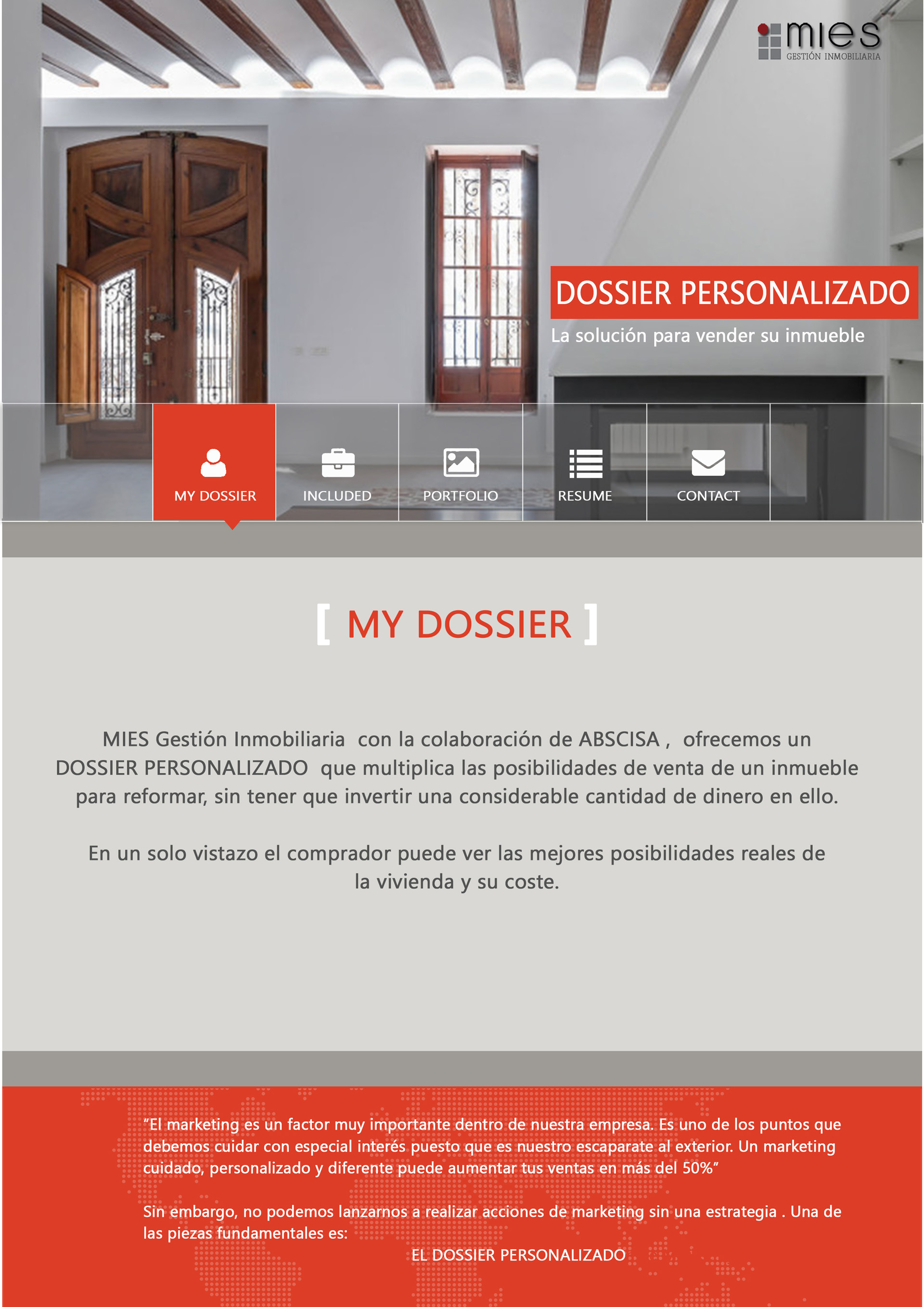Mies inmobiliaria - My Dossier