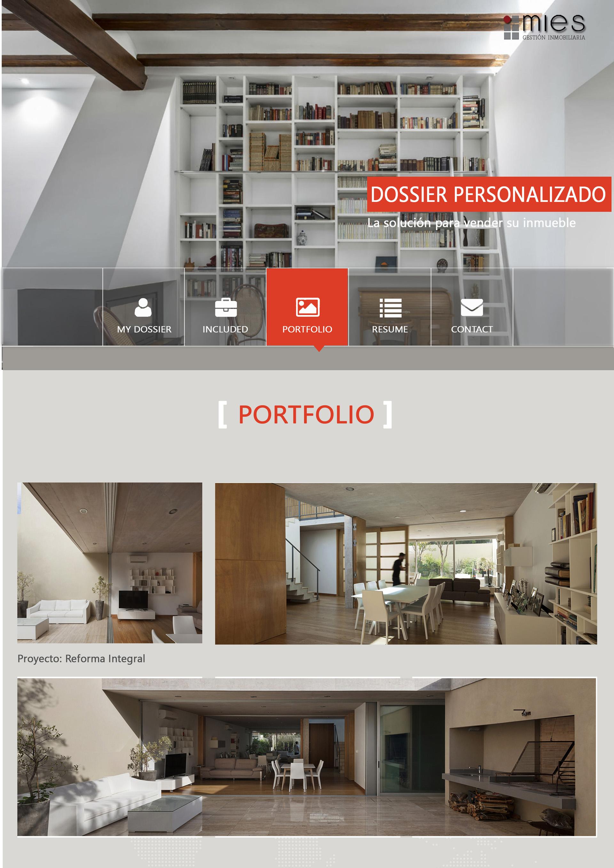 Mies inmobiliaria - Portfolio